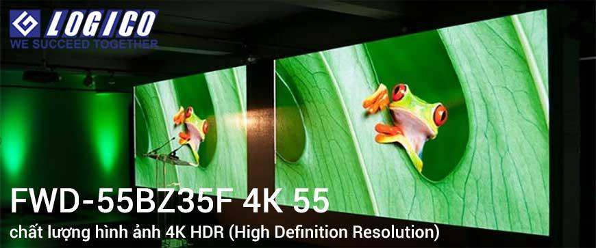 Chất lượng hình ảnh 4K HDR (High Definition Resolution)