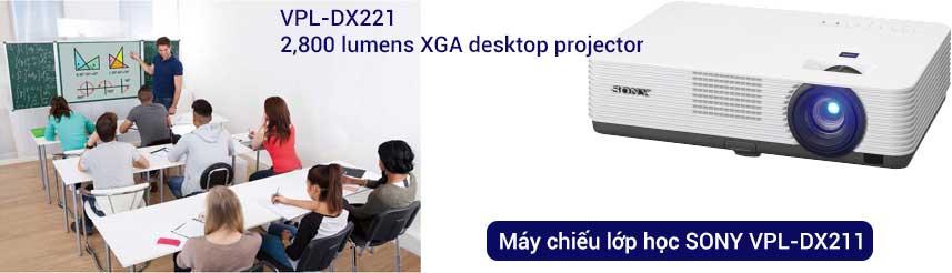 Máy chiếu Sony VPL-DX211 máy chiếu phù hợp văn phòng, lớp học
