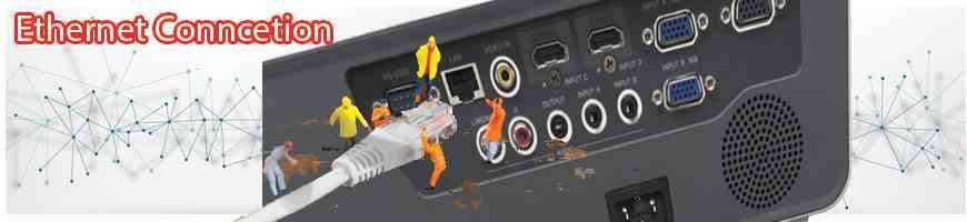 Dễ dàng kết nối mạng LAN cho việc trình chiếu đa năng hơn