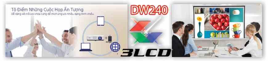 Công nghệ hình ảnh Máy chiếu Sony VPL-DW240