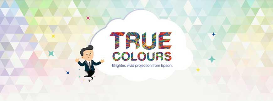 Công nghệ True Colours trên máy chiếu Laser Epson EB-L610W