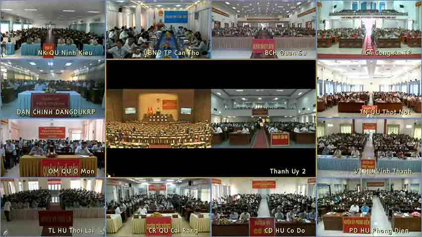 Hệ thống Hội nghị truyền hình Polycom thành phố Cần Thơ
