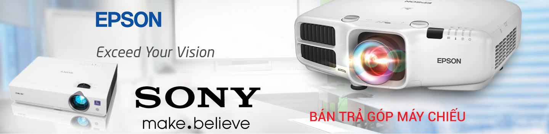 Bán máy chiếu SONY, EPSON trả góp 0%