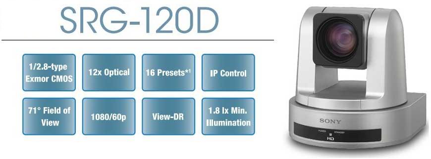 Thông số kỹ thuật camera hội nghị Sony SRG-120DH