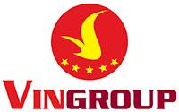 Logo trong bài viết của tập đoàn VinGroup