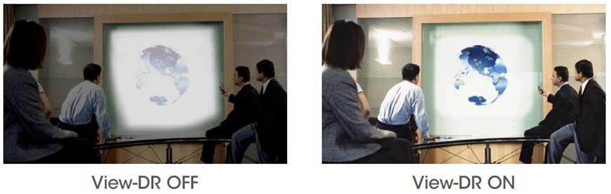 Công nghệ ViewDR trên các dòng Camera hội nghị SRG của Sony