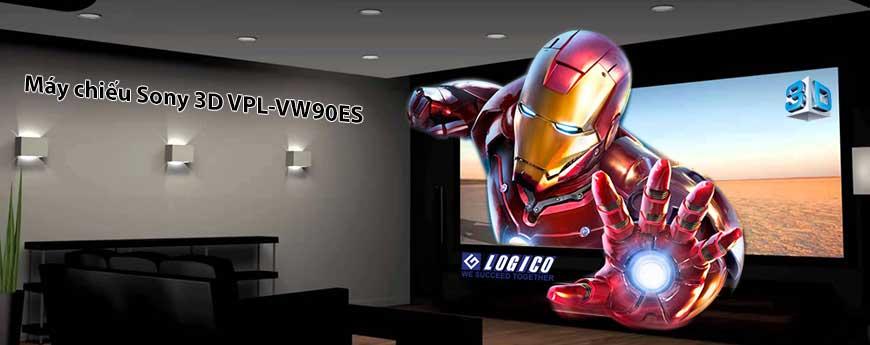 máy chiếu Sony 3D VPL-VW90ES