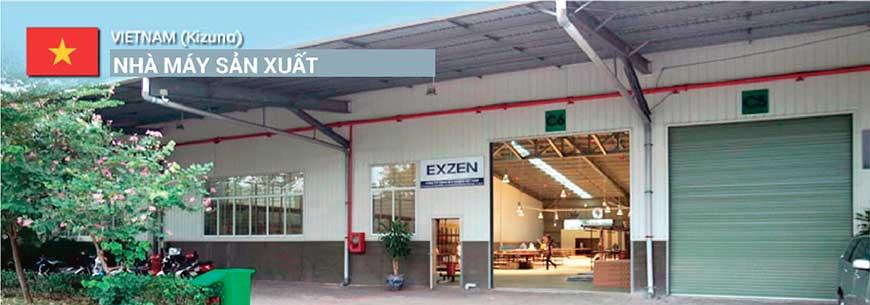 Nhà máy sản xuất màn chiếu cao cấp Exzen