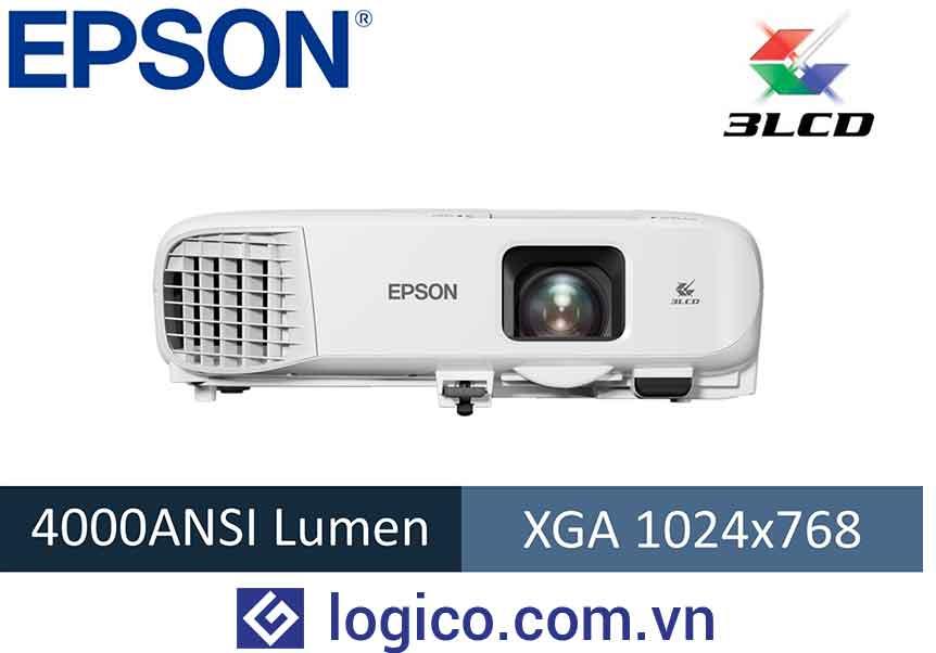 Máy chiếu Epson EB-970 - Top 4 máy chiếu cho phòng họp lớn đến từ Nhật