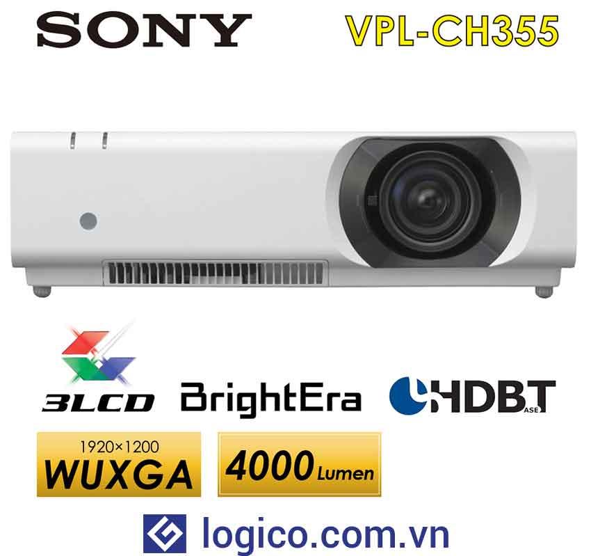 Máy chiếu Sony VPL-CH355 - Top 4 máy chiếu cho phòng họp lớn đến từ Nhật