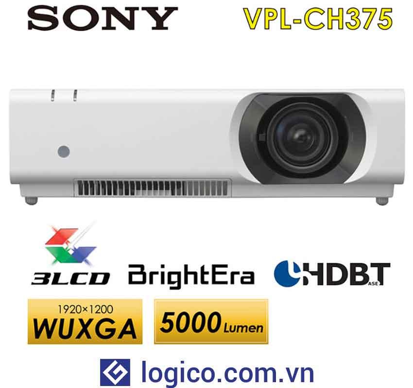 Top 6 mẫu máy chiếu hội trường lớn hàng đầu : Máy chiếu Sony VPL-CH375