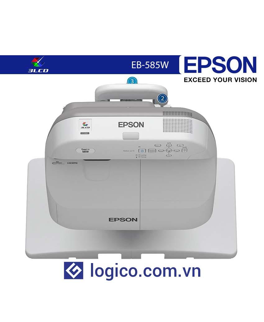 Máy chiếu siêu gần EPSON EB-585W
