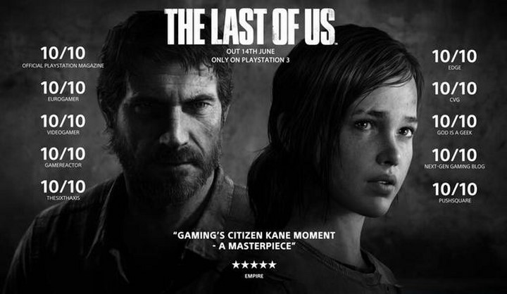 Đĩa game Playstation 4 The Last Of Us Remastered