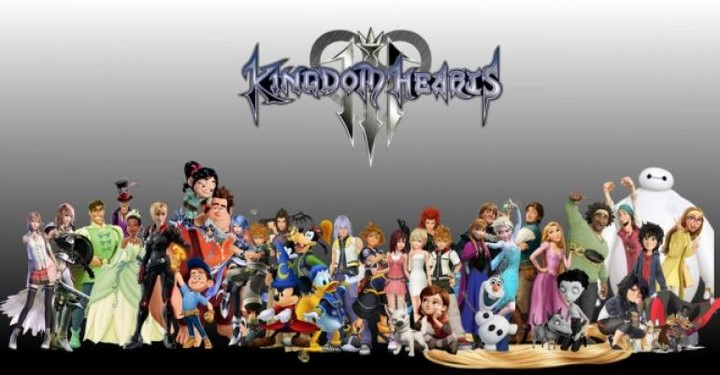 Đĩa game Playstation 4  Kingdom heart 3