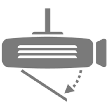 Tính năng tự động điều chỉnh hình chiếu khi treo trần trên các dòng máy chiếu ACER