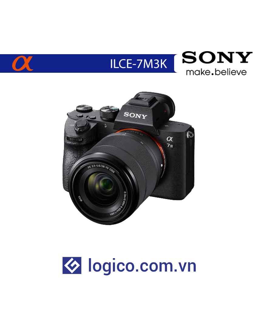 Máy ảnh Sony Alpha Full Frame ILCE-7M3K (kèm lens SEL2870)