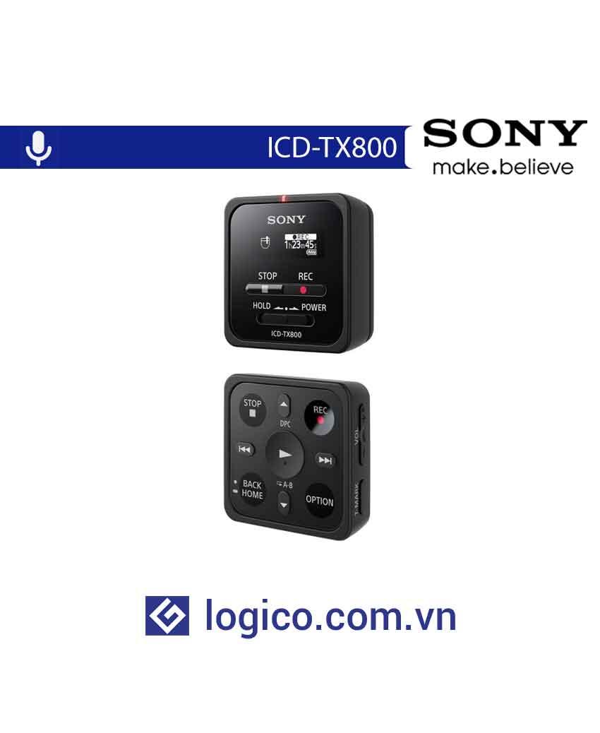 Máy ghi âm KTS có điều khiển từ xa ICD-TX800