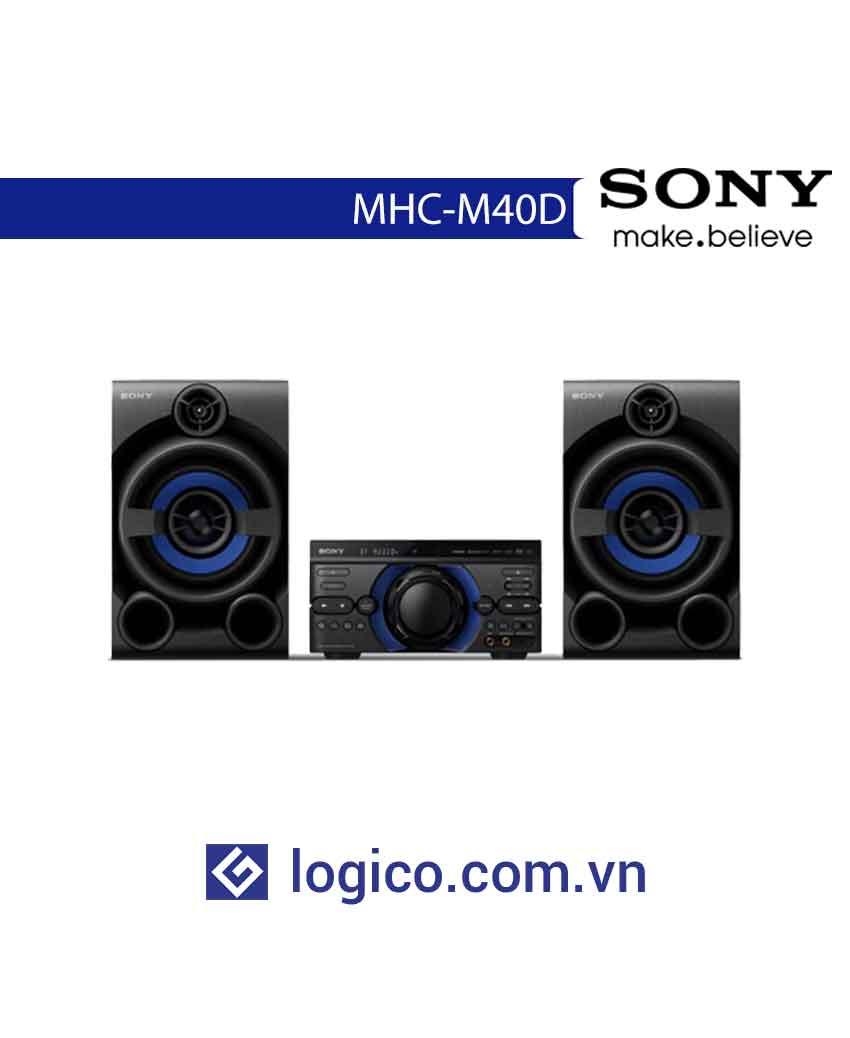 Dàn âm thanh Hifi MHC-M40D với DVD