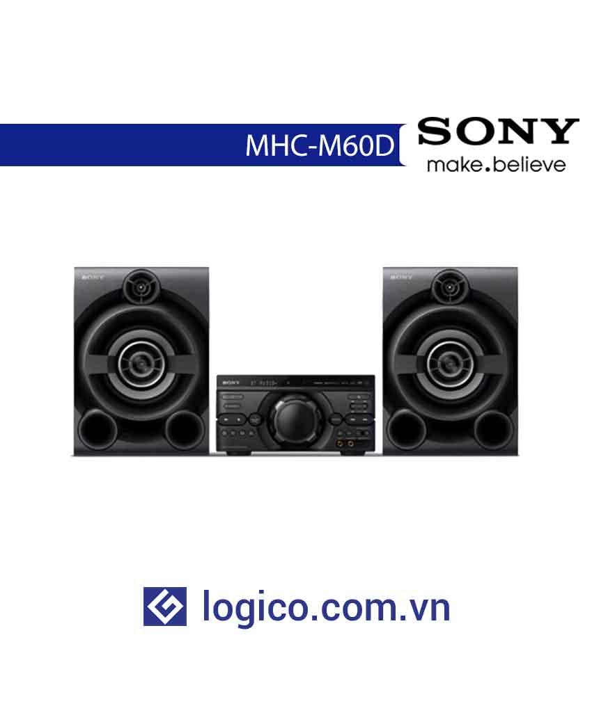 Dàn âm thanh Hifi MHC-M60D với DVD