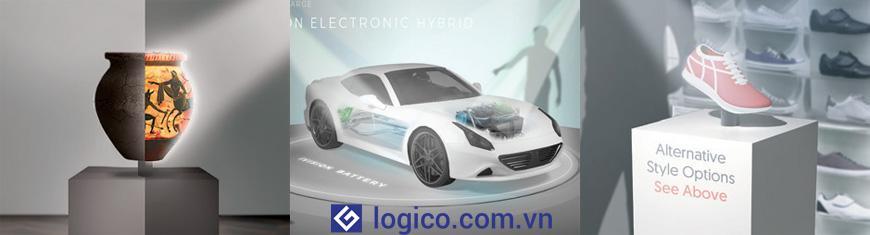 Máy chiếu Laser Epson LightScene EV-105 có khả năng chiếu lên mọi đồ vật