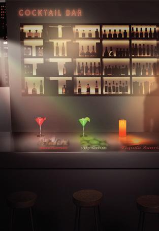 Máy chiếu Laser Epson LightScene EV-100 dùng trong bar / nhà hàng
