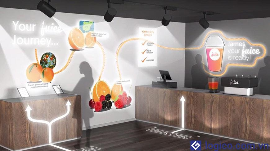 Máy chiếu Laser Epson LightScene EV-105 - Giải pháp trình chiếu thực thụ cho các cửa hàng bán lẻ, siêu thị, nhà hàng, khách sạn, quán Bar