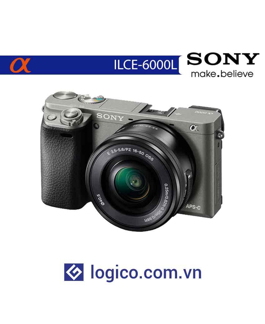 Máy chụp ảnh ILCE-6000L kèm lens SELP1650