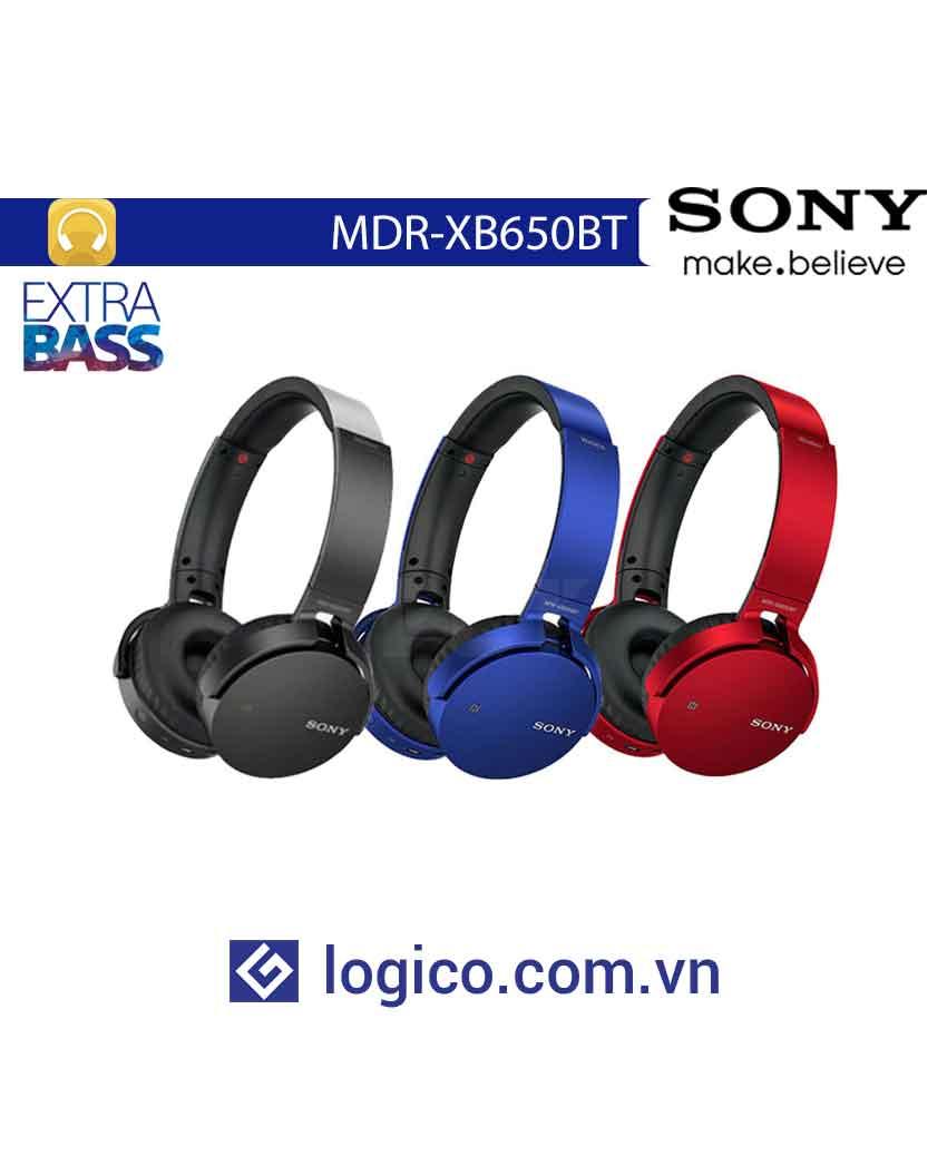 Tai nghe không dây Extra Bass MDR-XB650BT