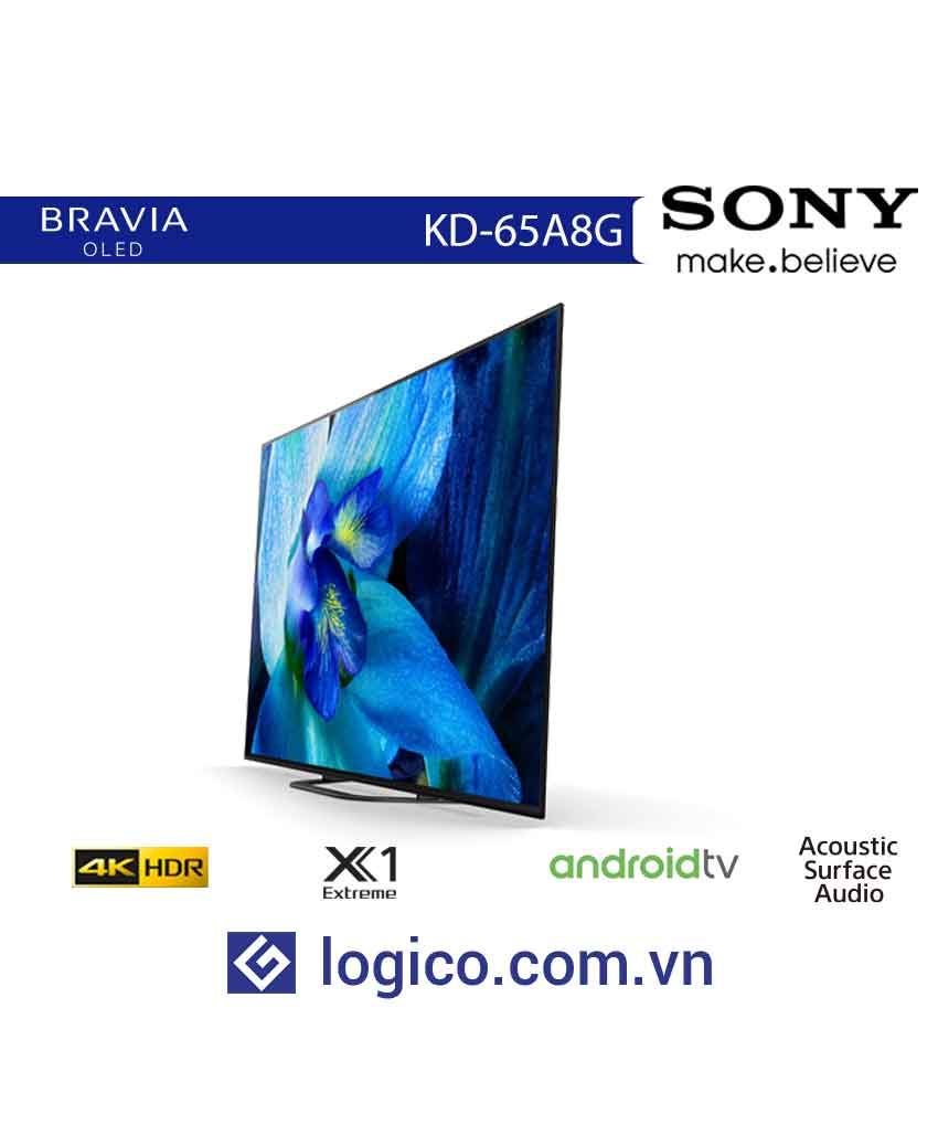Android Tivi Sony OLED KD-65A8G 4K 65 inch