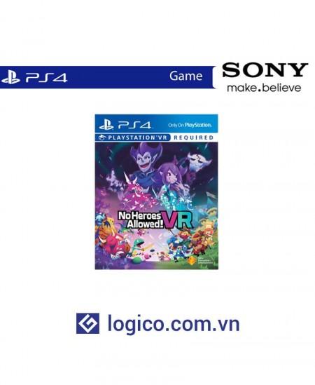 Đĩa game PS4 No Heroes Allowed! VR