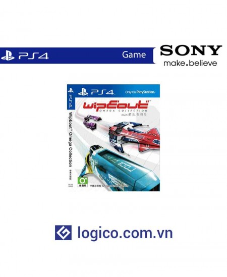 Đĩa game Ps4 WipEout Omega Collection