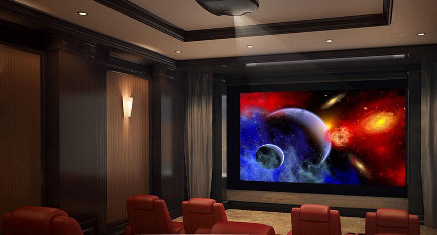 Máy chiếu Laser dùng trong giải trí