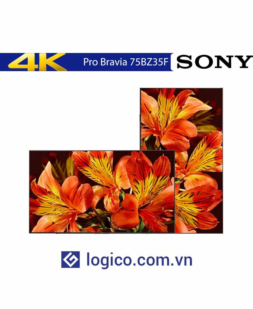 Màn hình chuyên dụng 4K HDR SONY Pro Bravia FW-75BZ35F 75 inch