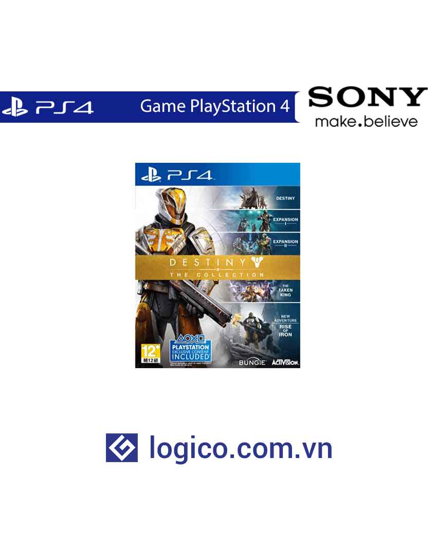 Đĩa Game PlayStation 4 Destiny Collection