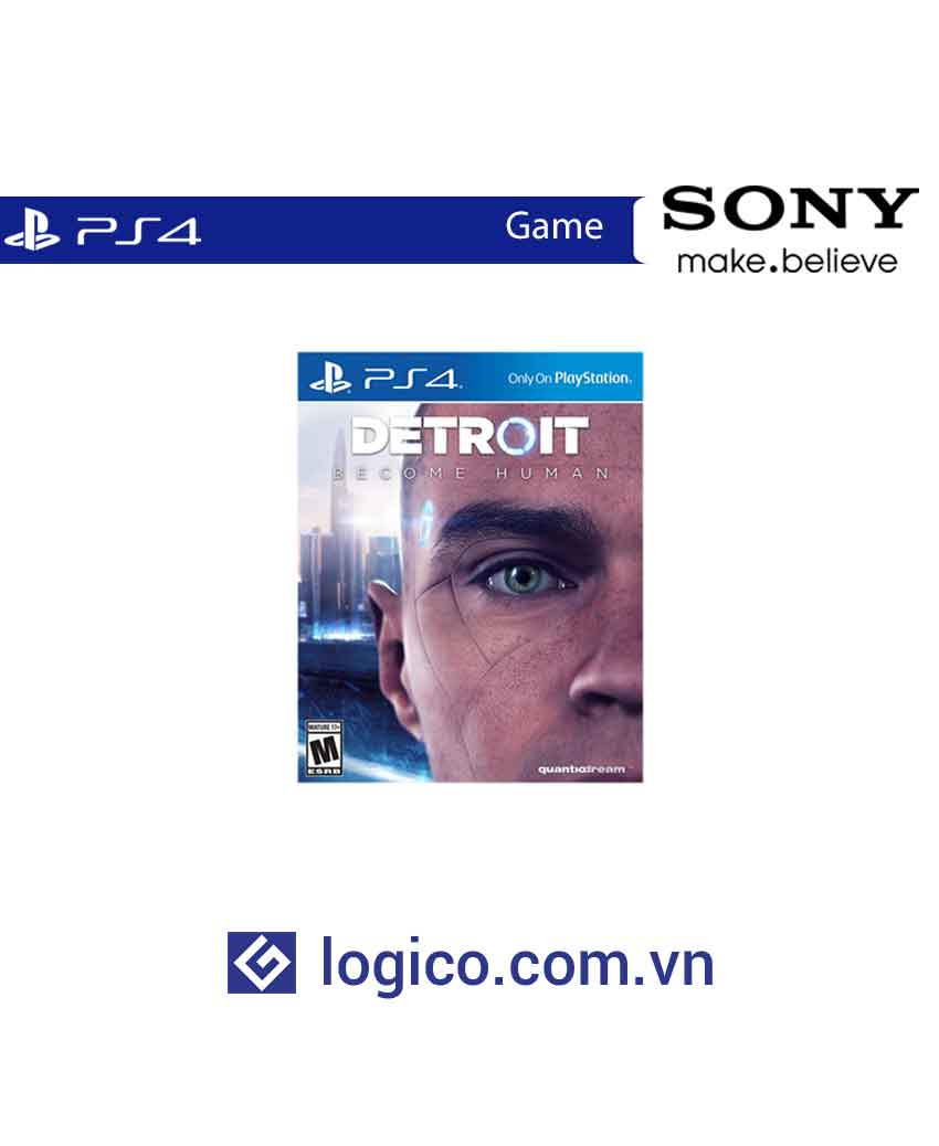 Đĩa game Ps4 Detroit: Become Human