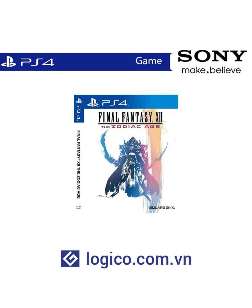 Đĩa game Ps4 Final Fantasy XII: The Zodiac Age