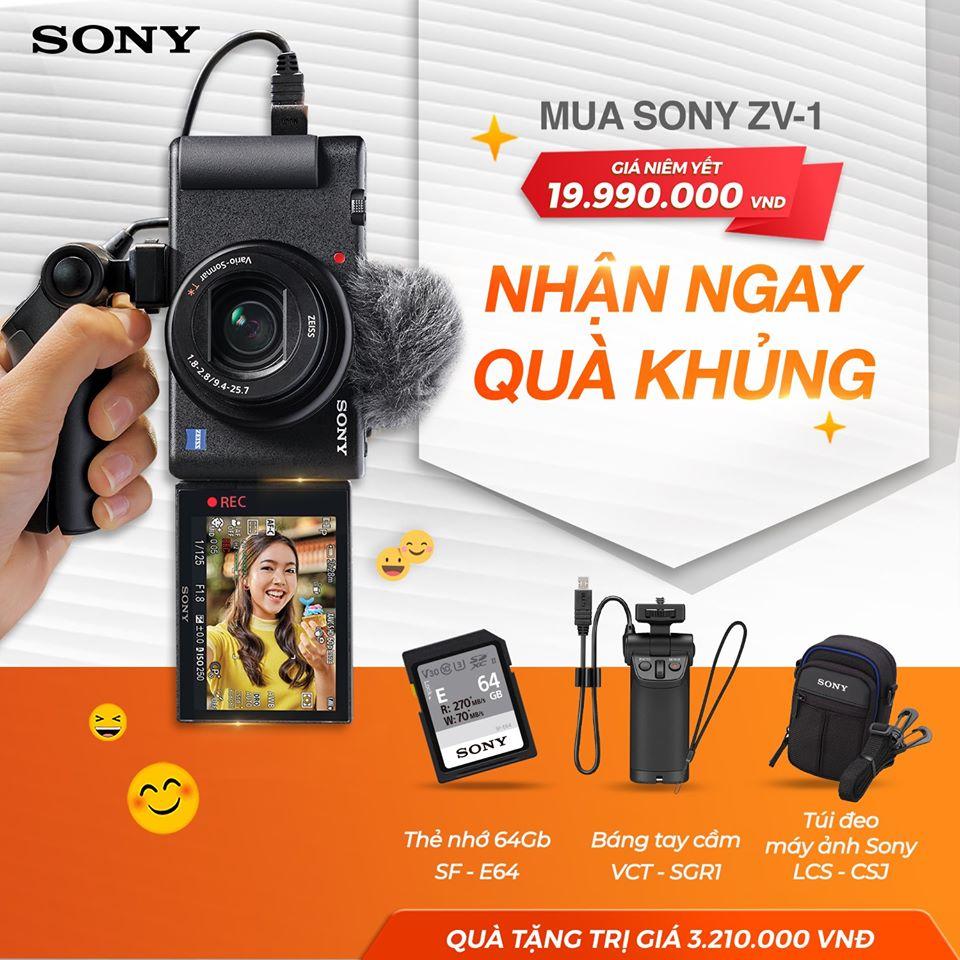 Máy ảnh kỹ thuật số Sony ZV-1