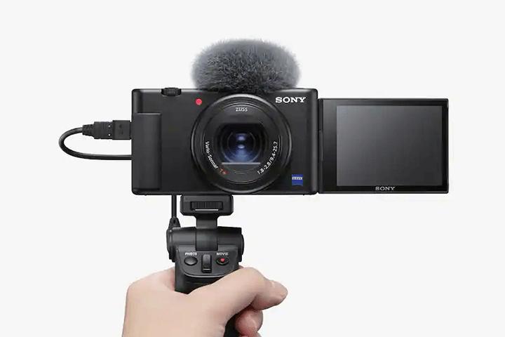 Ghi âm rõ ràng và giảm tạp âm do gió trên Sony ZV-1