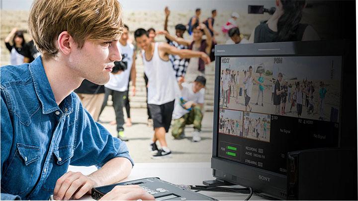 Ứng dụng rộng rãi, Phát trực tiếp nhanh chóng và Phân phối nội dung dễ dàng hơn là những ưu điểm của Giải pháp Live Stream từ Sony