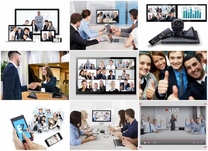 Một hệ thống hội nghị truyền hình trực tuyến