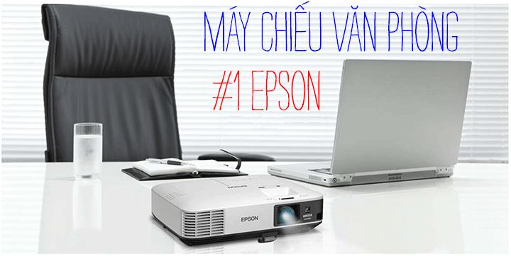Những lý do Epson là nhà sản xuất máy chiếu văn phòng số 1 thế giới
