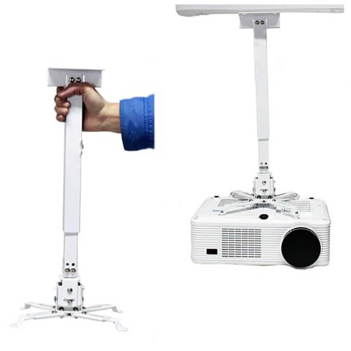 Giá đỡ máy chiếu với thiết kế chắc chắn giúp tăng độ bền khi sử dụng