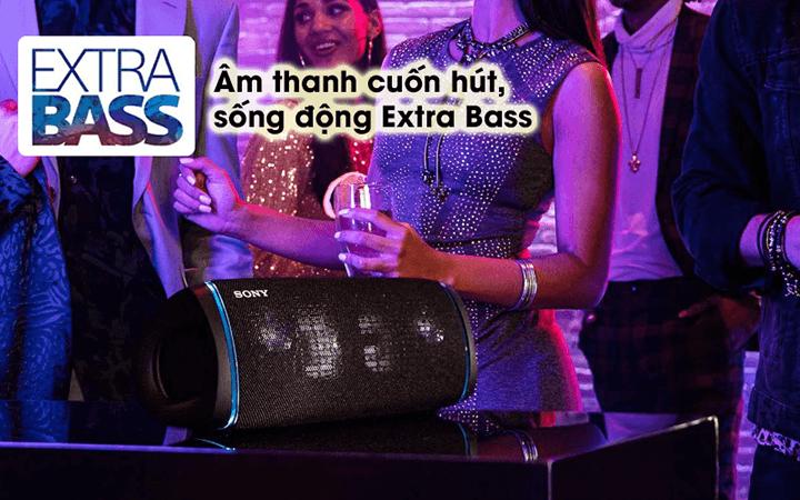 Loa di động Sony cho âm thanh cực chất