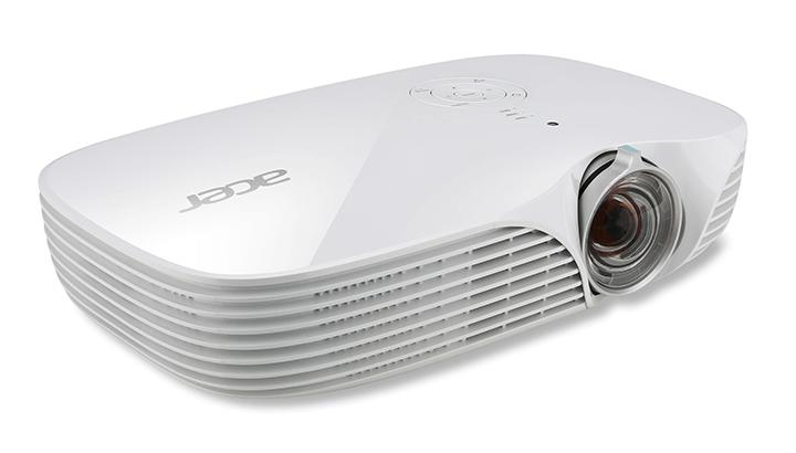Máy chiếu Acer có các thiết kế hiện đại và nhỏ gọn được nhiều khách hàng tin dùng và lựa chọn