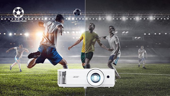 Máy chiếu Acer Full HD cho hình ảnh chất lượng khi xem phim