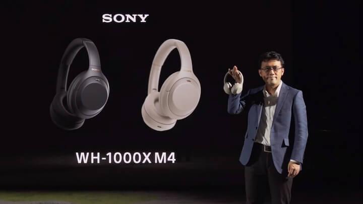 Sony WH-1000XM4 trình làng, Bluetooth 5. kết nối cùng lúc với 2 thiệt bị