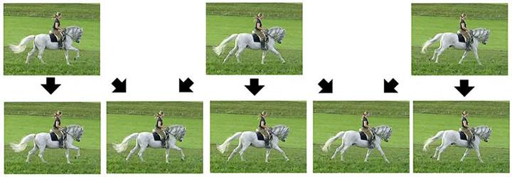 Hình ảnh sắc nét hơn ngay cả trên các đối tượng chuyển động nhanh