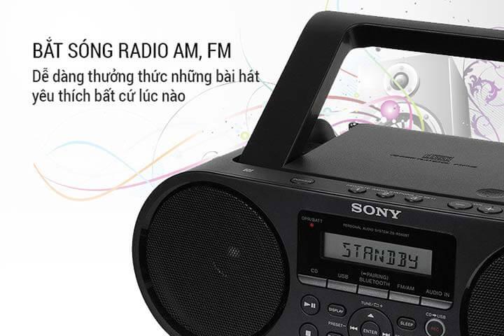 Cassette Sony có khả năng bắt sóng cực chất
