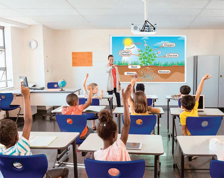 Tư vấn cách chọn mua máy chiếu lớp học phù hợp
