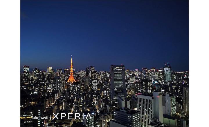 Hình ảnh ban đêm sắc nét mà điện thoại Sony Xperia 10 II đem lại